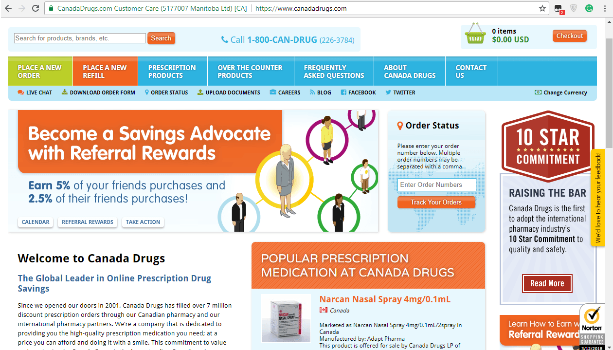 Canadadrugs.com - Great Canadian Pharmacy Shutting Down their Website