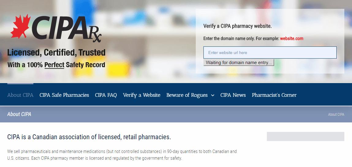 CIPAs Homepage