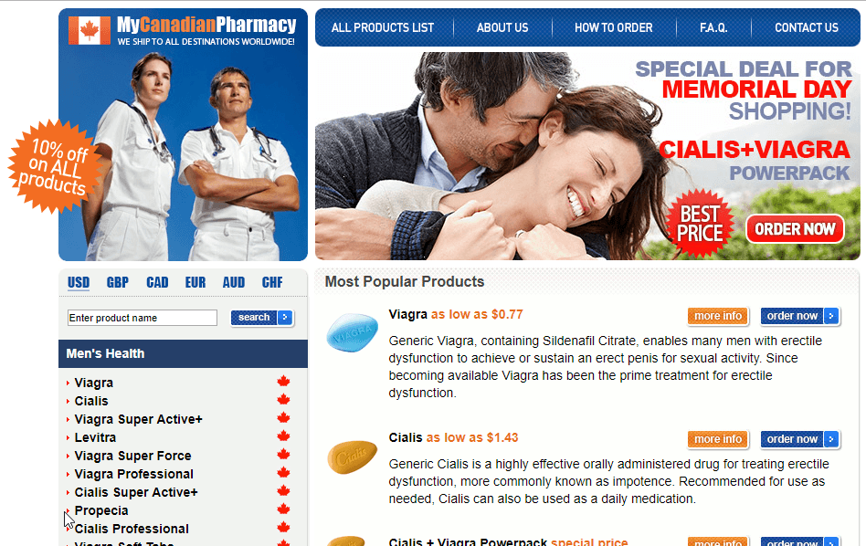 My Canadian Pharmacy - A Pharmacy That Has too Many Negative Reviews