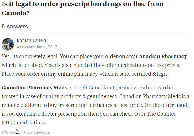 Buying Prescription Drugs Online