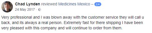 Mexican Pharmacy Testimonial