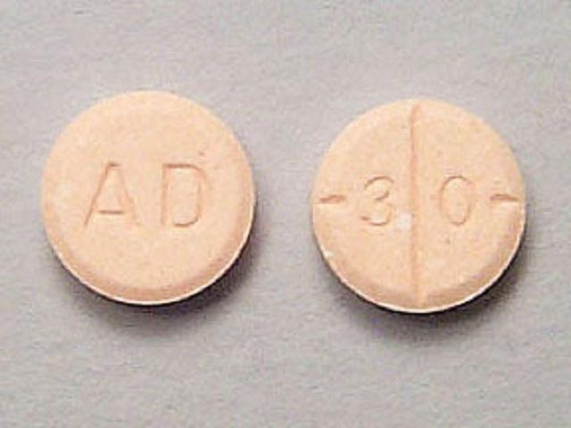 Photo of Adderall pill image