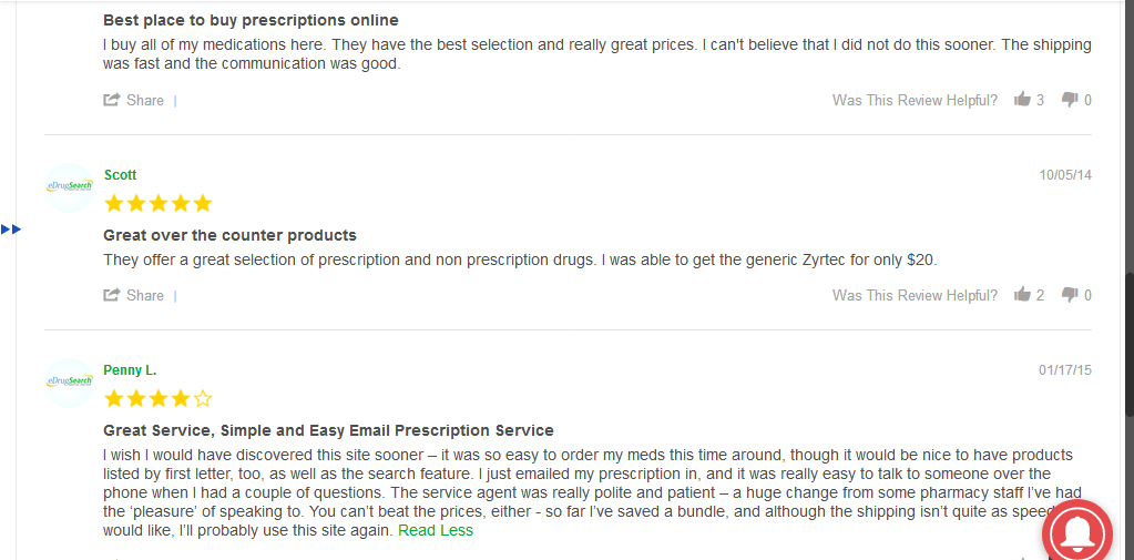 Positive Client Feedback on Canada Drug Center