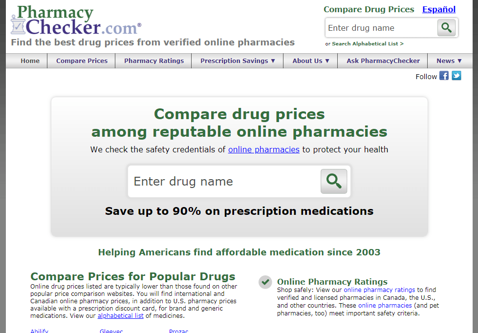 Compare canadian pharmacy prices