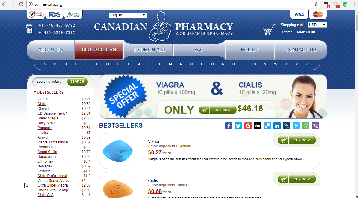 Reputable Canadian Pharmacy – Online Pills