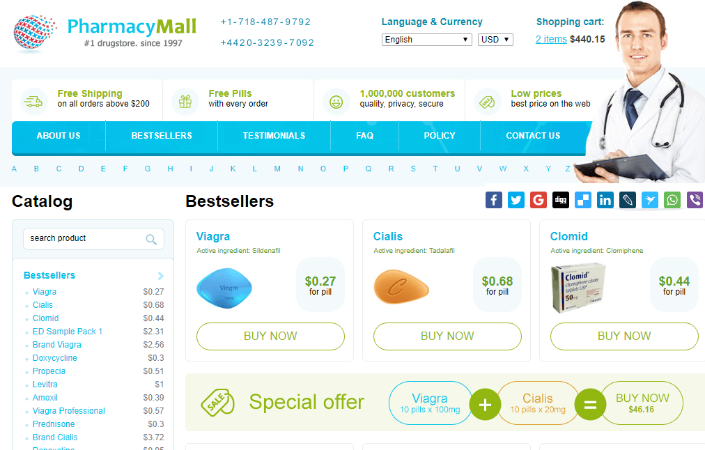Pharmacy Mall, One of the Best Online Pharmacies